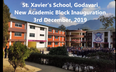 Inauguration of the New Academic Block on 3 December 2019