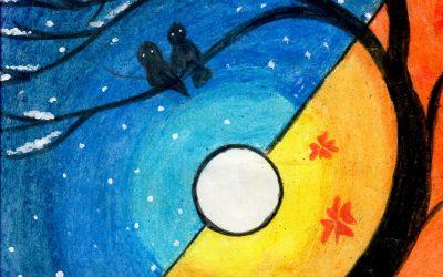 An Art Workshop for the Sponsored Children at St Xavier's School